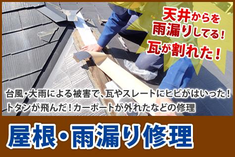屋根・雨漏り修理