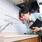 台所の詰まり修理