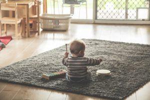 ガラスと子供の対策