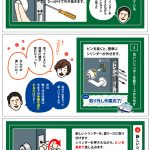 玄関ドアキーシリンダーの交換方法④